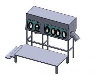 Rigid isolator