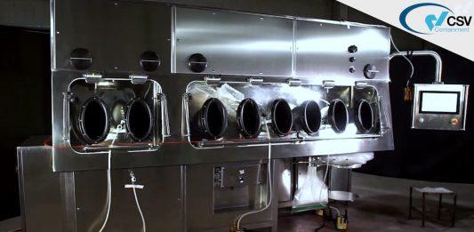 Double Chamber Weighing Isolator