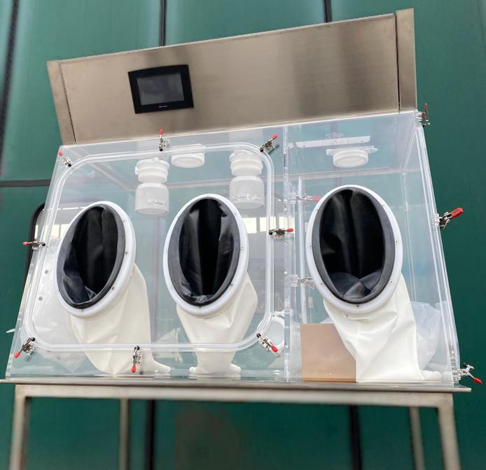 polycarbonate transparent bench isolator