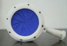 Iris Mouse Hole Blue